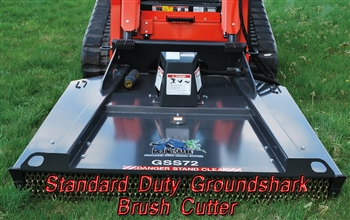 Skid Steer Hydraulic Brush Cutters